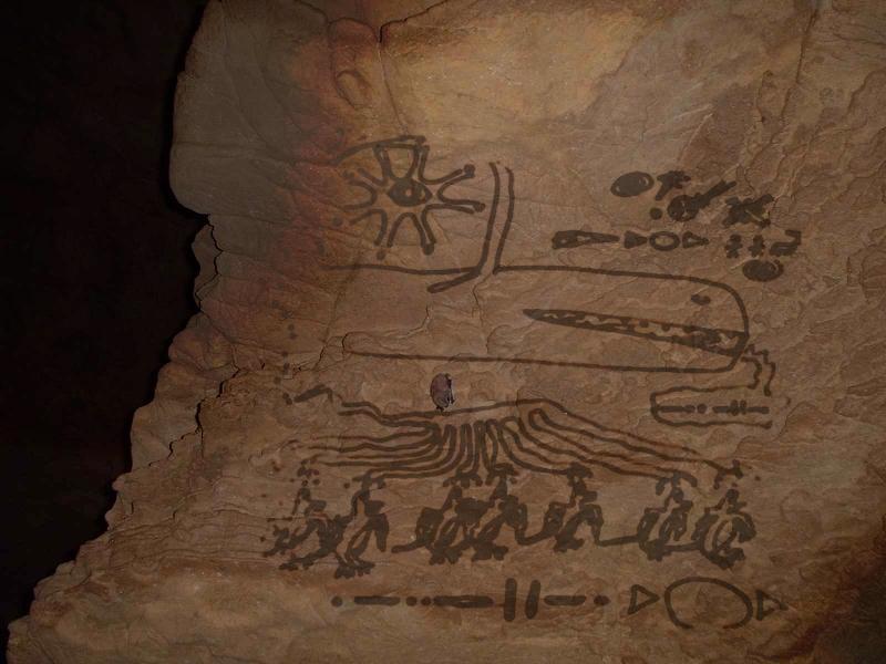 cave wall oneiroglyph